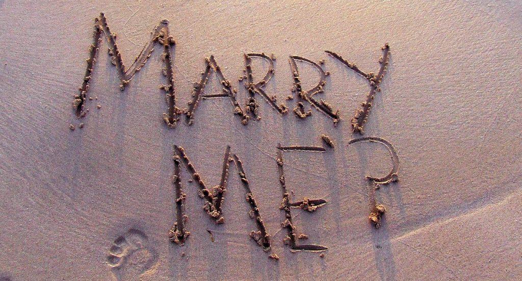 彼氏からのプロポーズ